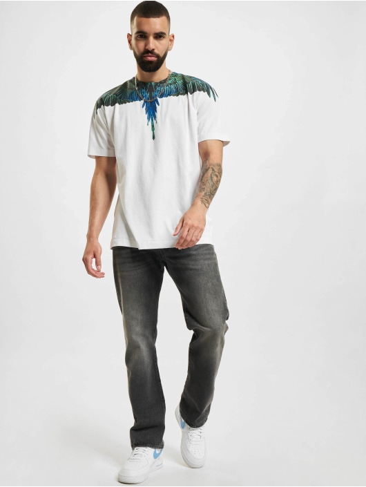 Marcelo Burlon Camiseta Wings Regular blanco