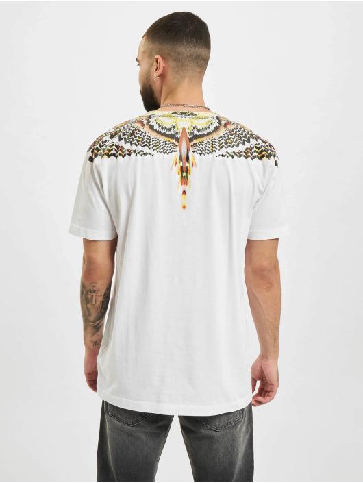 Marcelo Burlon Camiseta Grizzly Wings Regular blanco