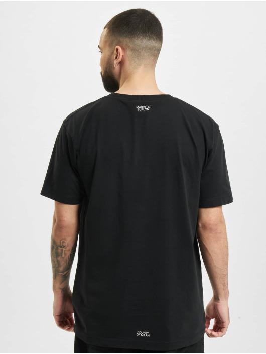 Marcelo Burlon Camiseta Cross Basic Neck negro