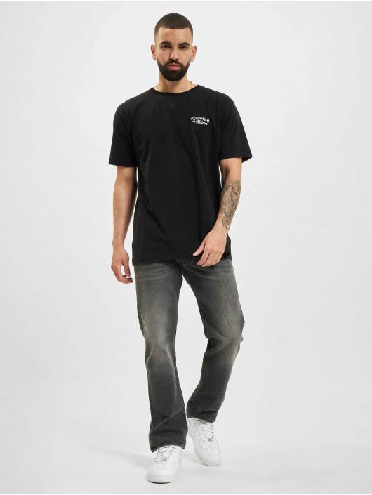 Marcelo Burlon Camiseta RuRal Cross Basic negro