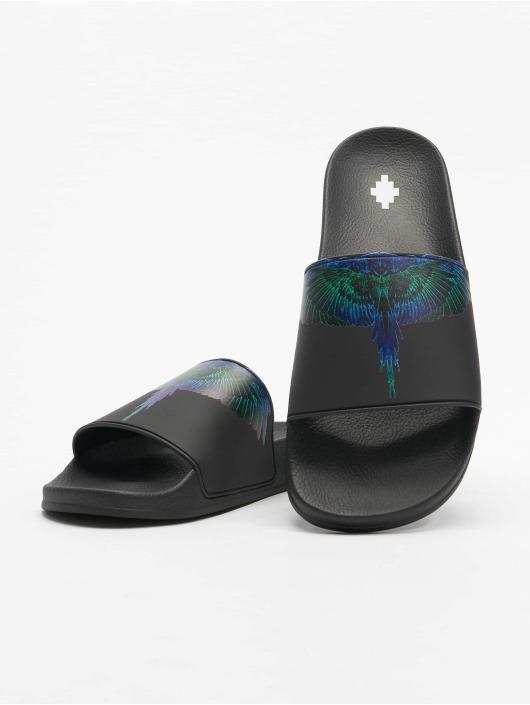 Marcelo Burlon Claquettes & Sandales Wings noir