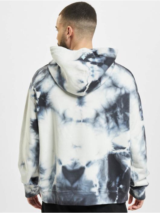 Marcelo Burlon Hoodies Tie & Dye hvid