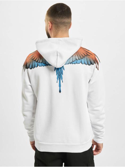 Marcelo Burlon Hoodies Wings hvid