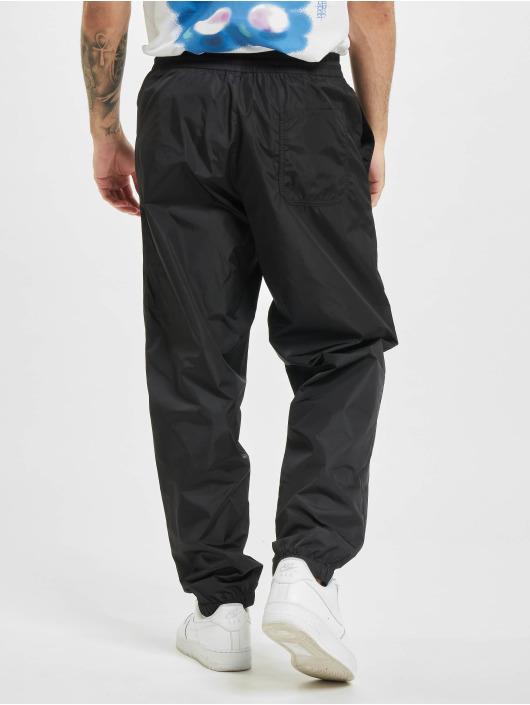 Marcelo Burlon Jogging kalhoty Cross Nylon čern