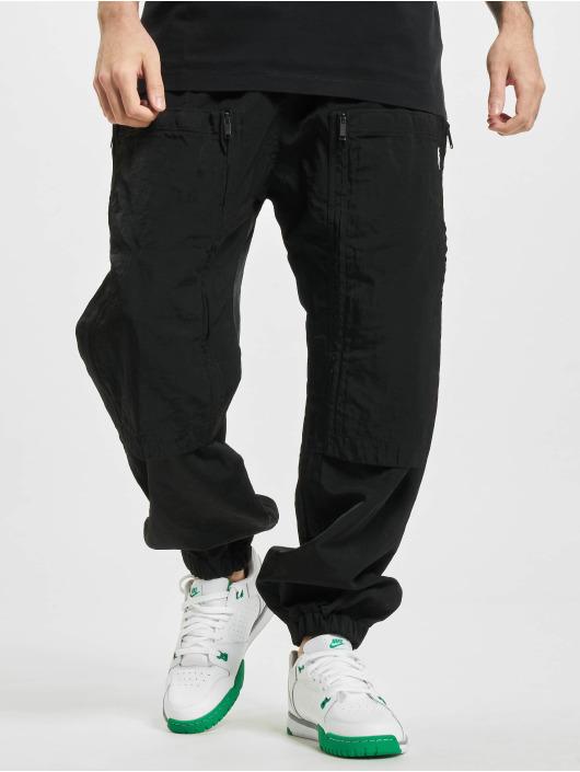 Marcelo Burlon Joggingbyxor Cross Pocket svart