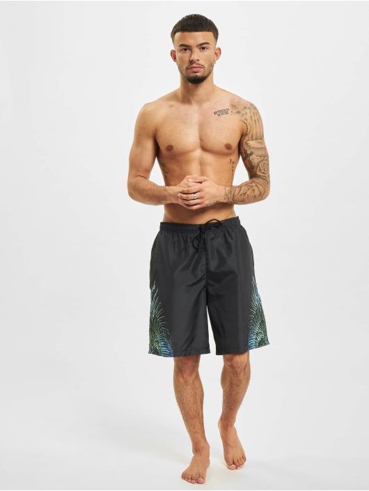 Marcelo Burlon Koupací šortky Swim čern