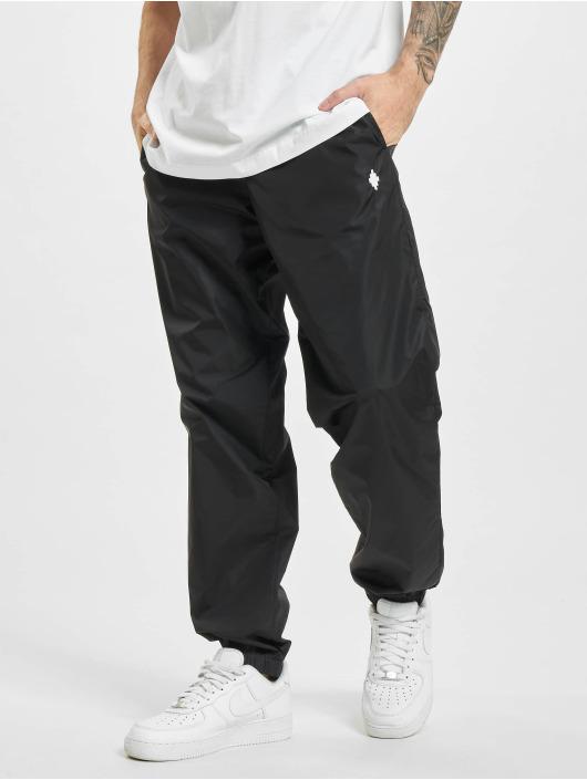 Marcelo Burlon Pantalón deportivo Cross Nylon negro