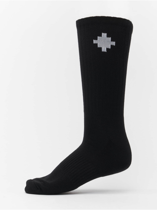 Marcelo Burlon Ponožky Cross Sideaway èierna