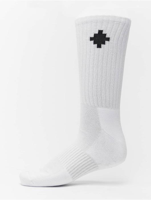 Marcelo Burlon Ponožky Cross Sideaway biela