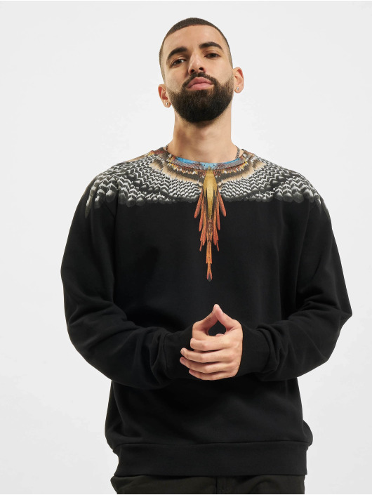 Marcelo Burlon Pullover Grizzly Wings black