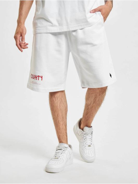 Marcelo Burlon Shorts County Navaho Buckle bianco