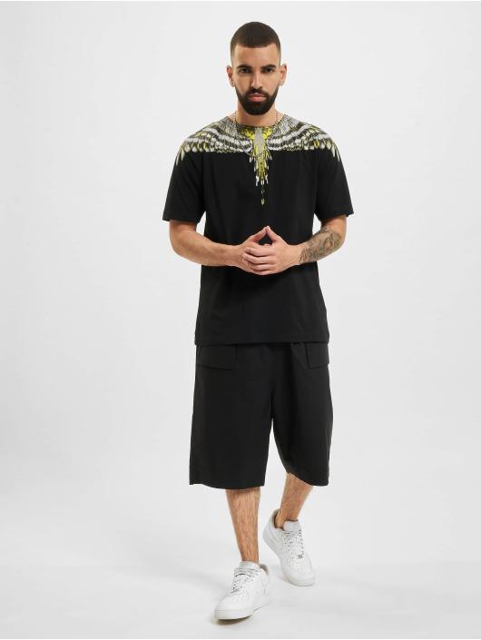 Marcelo Burlon shorts Cross Patch Tech zwart