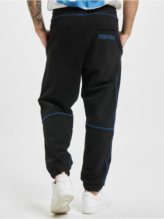 Marcelo Burlon Spodnie do joggingu Cross Slim czarny