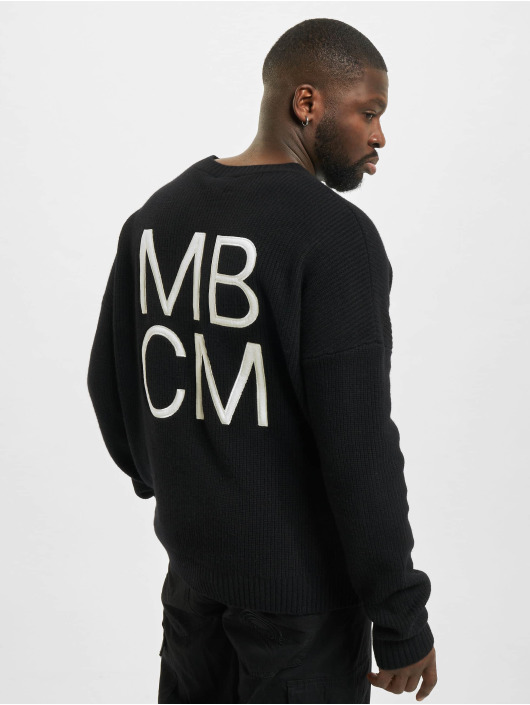 Marcelo Burlon Svetry MBCM Wool Regular Knit čern