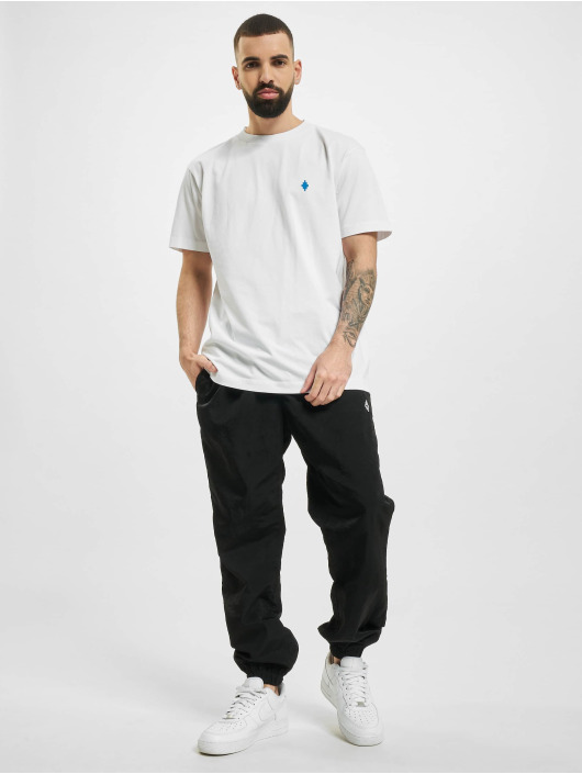 Marcelo Burlon T-shirt Psych Clouds Basic bianco