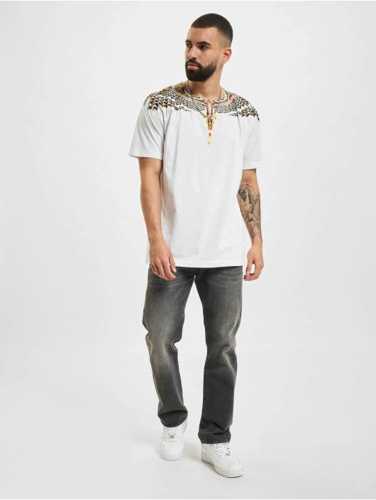Marcelo Burlon T-shirt Grizzly Wings Regular bianco