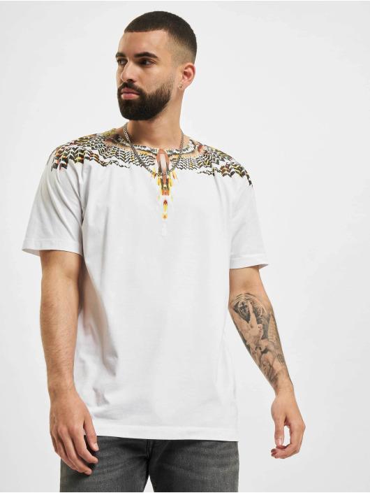 Marcelo Burlon T-Shirt Grizzly Wings Regular blanc