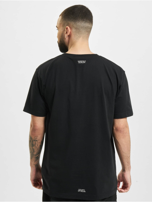 Marcelo Burlon T-shirt Cross Basic Neck nero