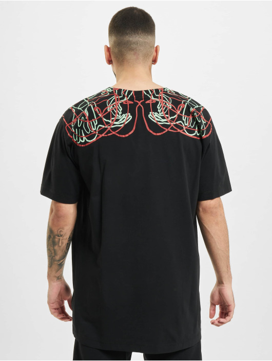 Marcelo Burlon T-shirt Handsfaces Basic svart