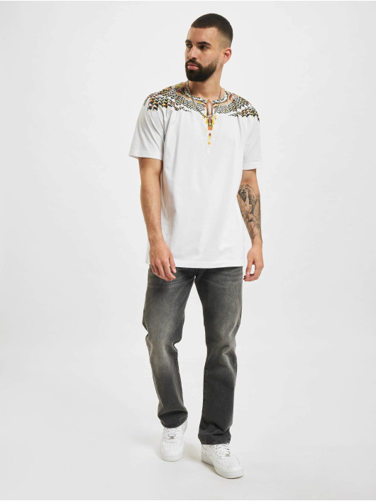 Marcelo Burlon T-Shirt Grizzly Wings Regular weiß