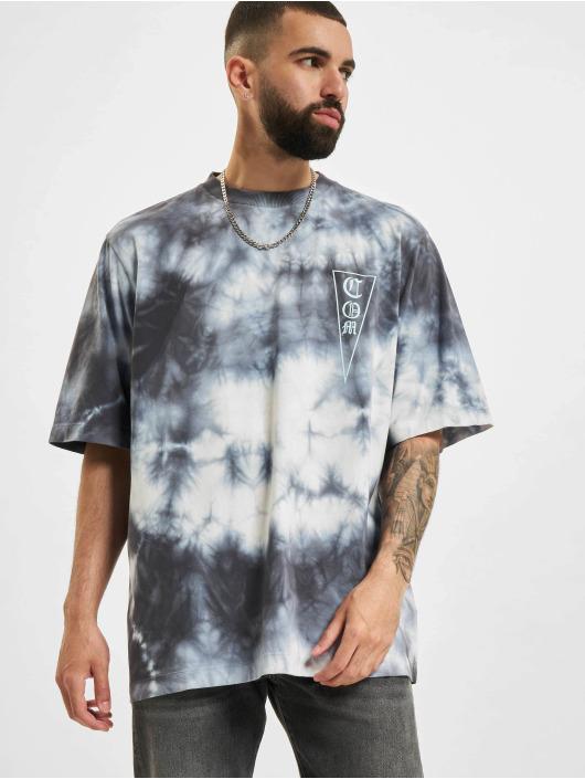 Marcelo Burlon T-Shirt Com Tie & Dye weiß