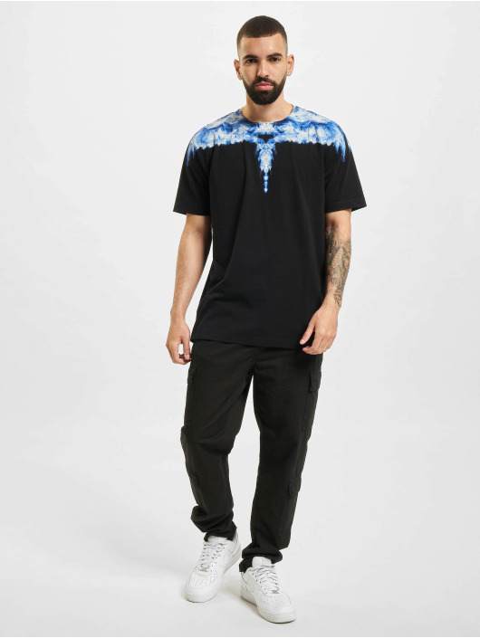 Marcelo Burlon t-shirt Smoke Wings Regular zwart