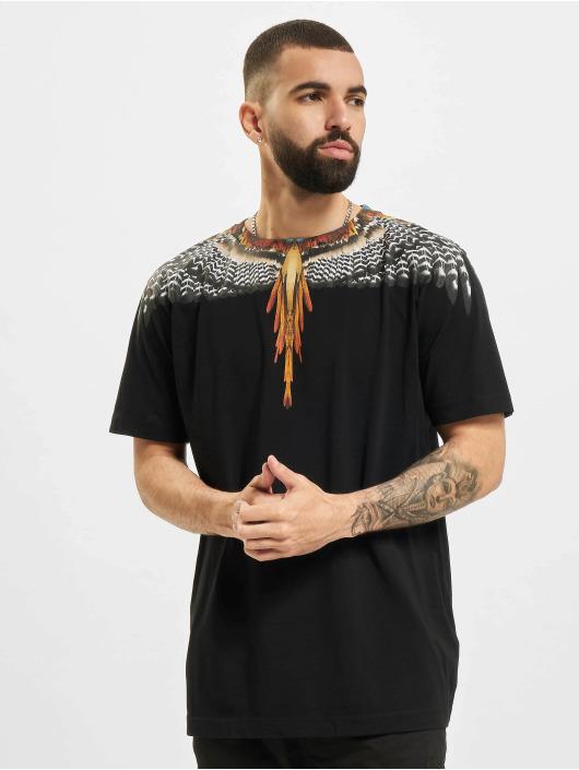 Marcelo Burlon t-shirt Grizzly Wings  Regular zwart