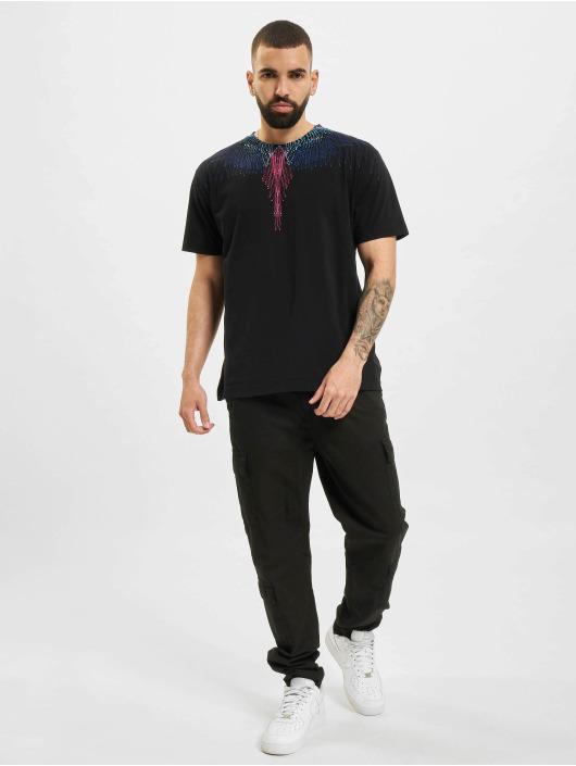 Marcelo Burlon T-shirts Bezier Wings sort
