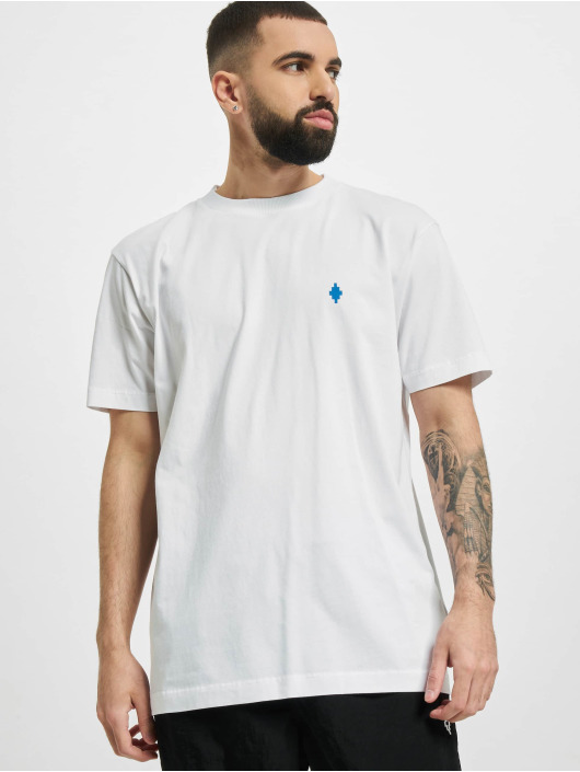 Marcelo Burlon T-Shirty Psych Clouds Basic bialy