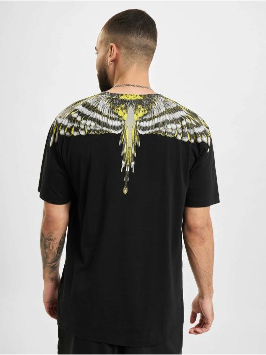 Marcelo Burlon T-Shirty Birds Wings Regular czarny