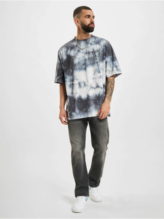 Marcelo Burlon T-skjorter Com Tie & Dye hvit