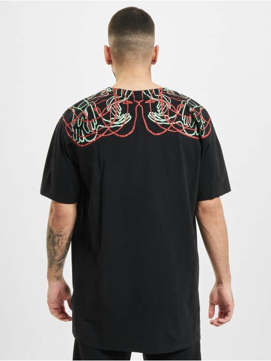 Marcelo Burlon T-skjorter Handsfaces Basic svart