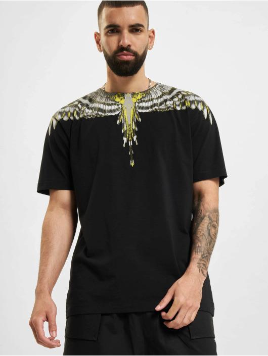 Marcelo Burlon T-skjorter Birds Wings Regular svart