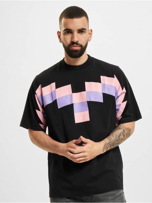 Marcelo Burlon T-skjorter Team Wings svart