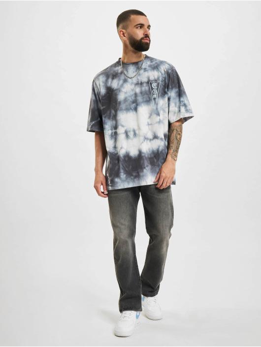 Marcelo Burlon Trika Com Tie & Dye bílý
