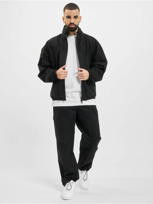 Marcelo Burlon Übergangsjacke Logo Tech Cott Hood schwarz