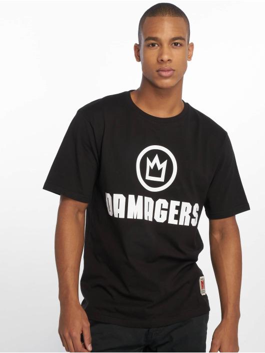 Maskulin T-Shirt Damagers schwarz