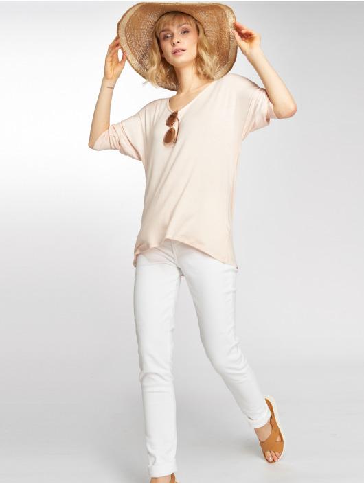 Mavi Jeans Longsleeve Basic Zip rose