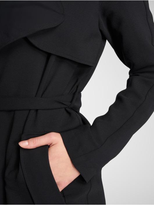 512494 Mavi Manteau Femme Trench Jeans Noir sthQrdCx