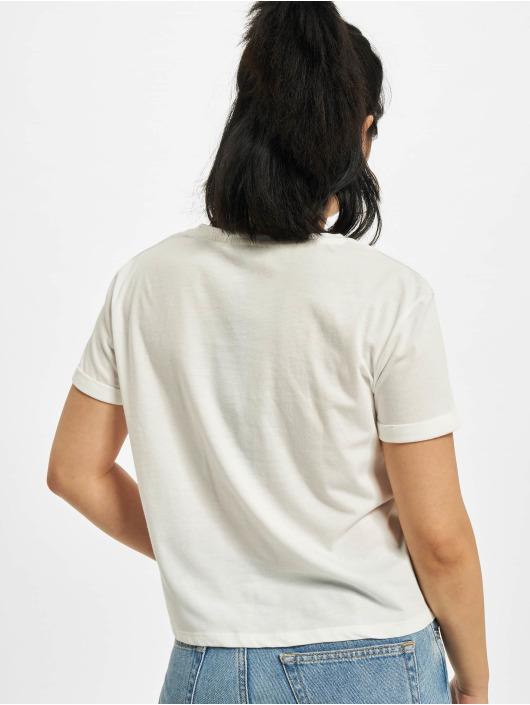 Mavi Jeans T-Shirt Embroidery blanc