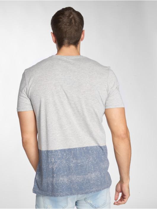 Jeans Block Tee Homme Mavi Gris 512603 Color T shirt 5ARjL43