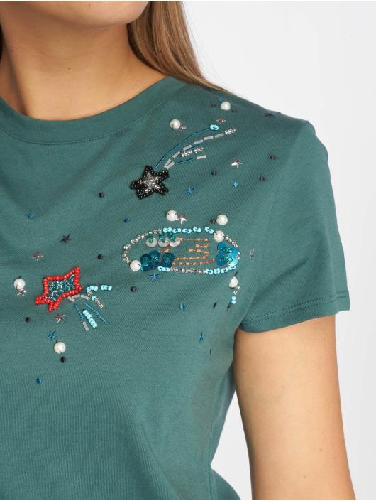 Vert 512549 T Galaxy Applique shirt Jeans Femme Mavi vmyO0wN8n