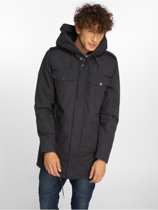 Mazine Parka Warrington blue
