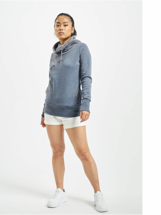 Mazine Pullover Laverton Heavy Tutrtle Neck blue