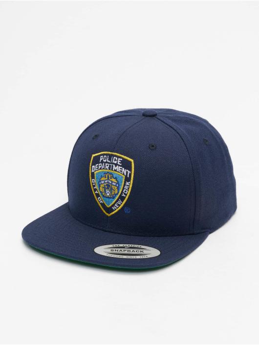 Merchcode Кепка с застёжкой NYPD Emblem синий