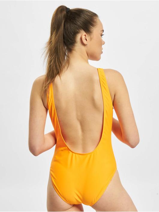 Merchcode Badeanzug Ladies Fanta Logo orange