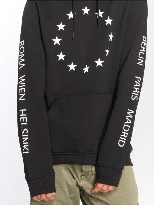 Merchcode Bluzy z kapturem Euro czarny