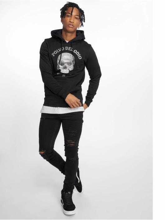 Merchcode Bluzy z kapturem Polvo Del Odio czarny