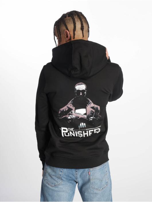 Merchcode Bluzy z kapturem The Punisher czarny