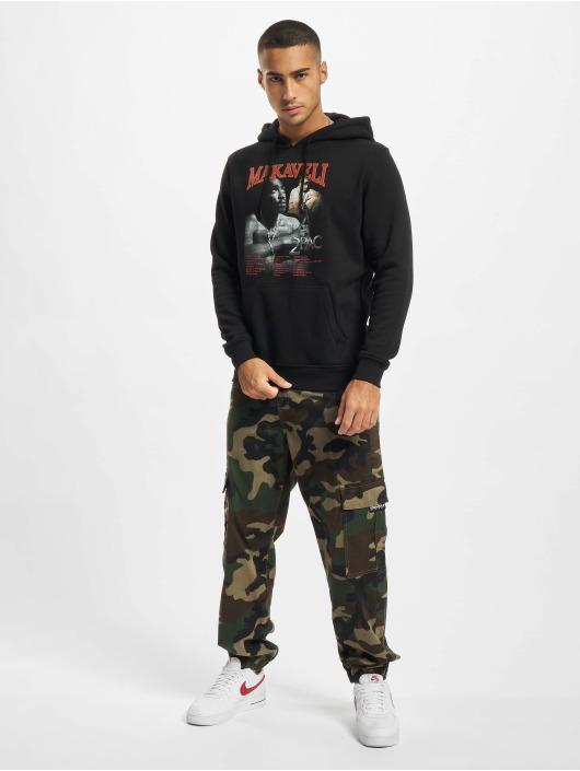 Merchcode Bluzy z kapturem Tupac Makaveli czarny